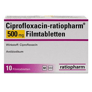 Ciprofloxacin-ratiopharm-500mg-packung-vorderansicht