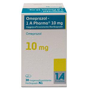 Omeprazol-1A-Pharma-10mg-packung-vorderansicht