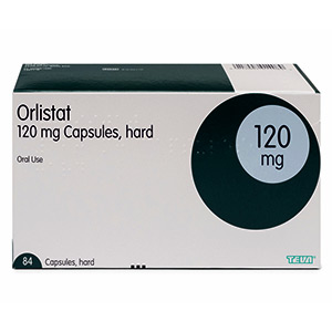 Orlistat-120mg-package-front-view photo
