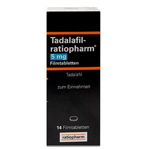 Tadalafil-ratiopharm-5mg-packung-vorderansicht