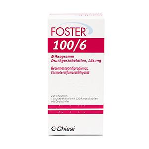 Foster® 100/6 Mikrogramm packung vorderseite