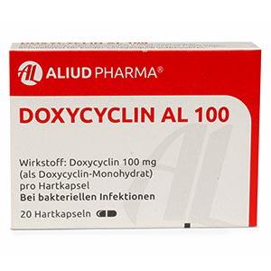 Doxycyclin-AL-100mg-packung-vorderansicht