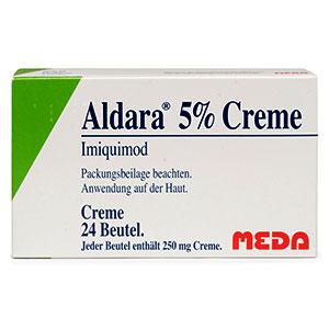 Aldara-5-Crame-250mg-packung-vorderansicht